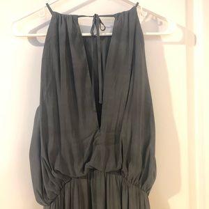 H&M Dresses - H&M Conscious gray Grecian maxi dress. Brand new.
